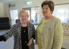 Volunteers Daycare Visit
