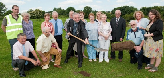 Turning the sod of the new CUAN