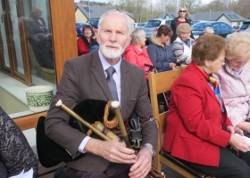 Opening of the Garden of Remembrance at Cuan an Chláir, 31st March 2016